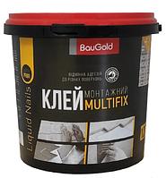 Монтажный клей BauGold MULTIFIX 1,2кг