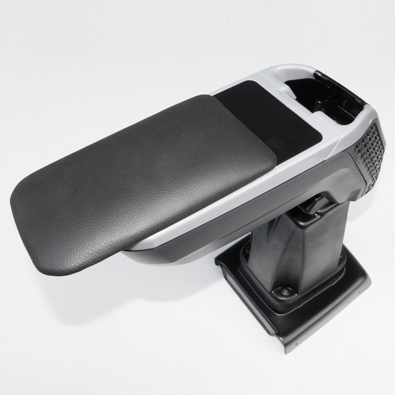 Підлокітник Armcik s4 з зсувною кришкою і рег. нахилом для Peugeot Partner lll / Rifter 2018> /електр.гальмо/, фото 4
