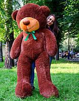 Большой плюшевый мишка 200 см, шоколадный мягкий медведь, подарок для девушки на день рождения