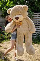Большой плюшевый мишка 200 см, мокко мягкий медведь, подарок для девушки на день рождения