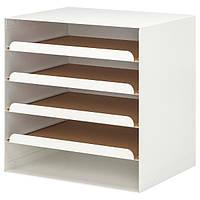 КВІССЛЕ Лоток для корреспонденції - білий - IKEA