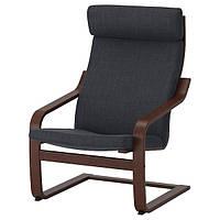 IKEA POANG (091.977.85) Кресло, коричневый, фото 1