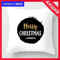 """Новогодняя декоративная подушка """"Marry Christmas"""""""