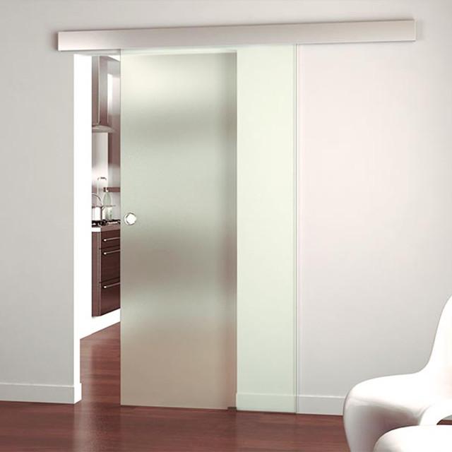 Скляні розсувні двері