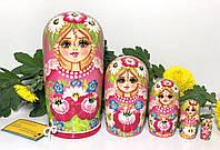 Матрешки игрушки из дерева для детей