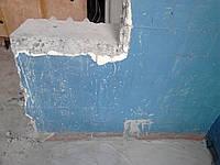Снос стен Демонтаж стены Слом перегородок балконных тумб