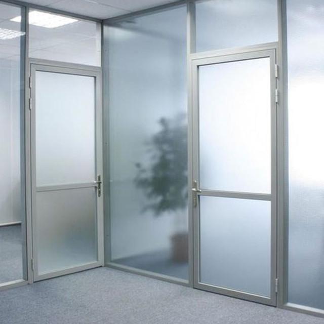 Скляні алюмінієві двері