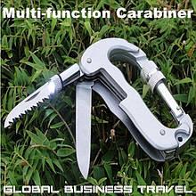 Мультитул+карабин Global Business Travel Z034
