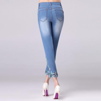 Женские джинсовые бриджи FERZIGE Jeans 545