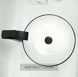 Керамічна накладна раковина. Модель RD-3212