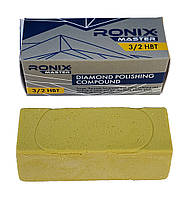 Твёрдая алмазная паста RONIX master 3/2 НВТ (водосмываемая) 65г