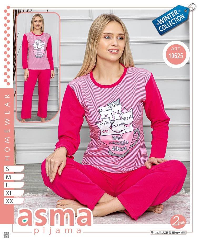 Женские пижамы S-2XL норма (5 шт)