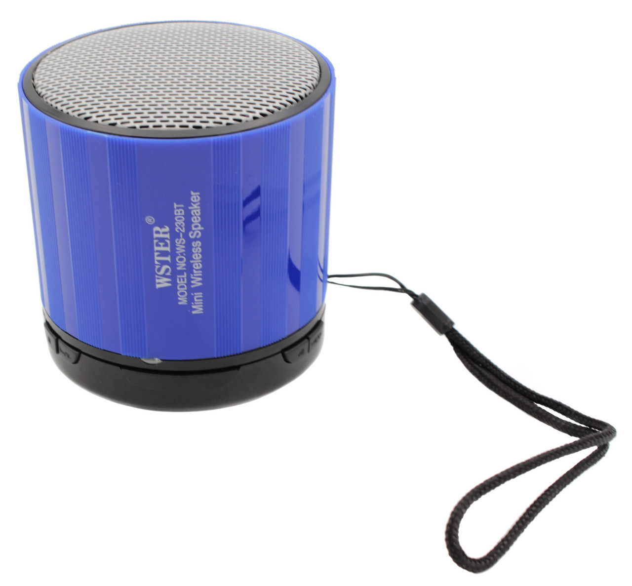 Портативная беспроводная колонка WSTER WS-230BT, цветомузыка, bluetooth