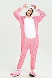 Пижама кигуруми Китти горох, Кигуруми Китти горох для взрослых, фото 6