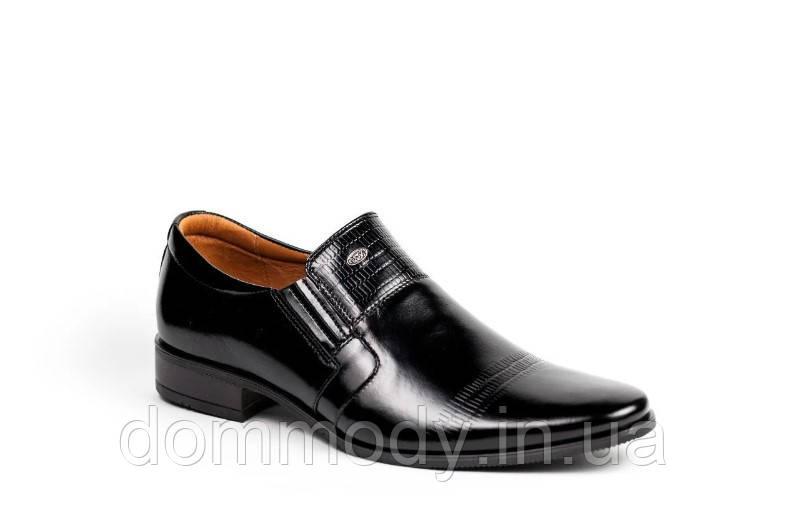 Туфли мужские черного цвета Business Shoes