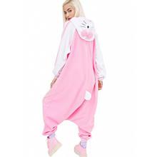 Кигуруми для взрослых Китти розовая, пижама кигуруми Китти розовая