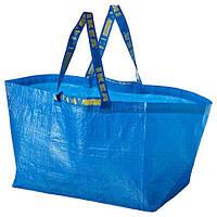 ФРАКТА Господарська сумка, велика - синій - IKEA