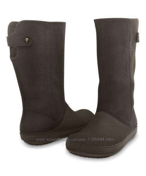 Утепленные сапоги Крокс Crocs Berryessa II Boot Оригинал (Размер US W4  - 20 см)