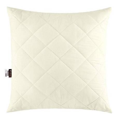 Подушка Ideia Comfort Standart 50*50 см микрофибра/силиконовые шарики белая арт.8000013409, фото 2