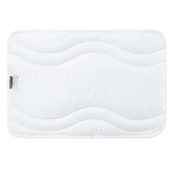 Подушка для новорожденных Ideia Baby Comfort 40*60 см микрофибра/антиаллергенное волокно арт.8000029615.молоко