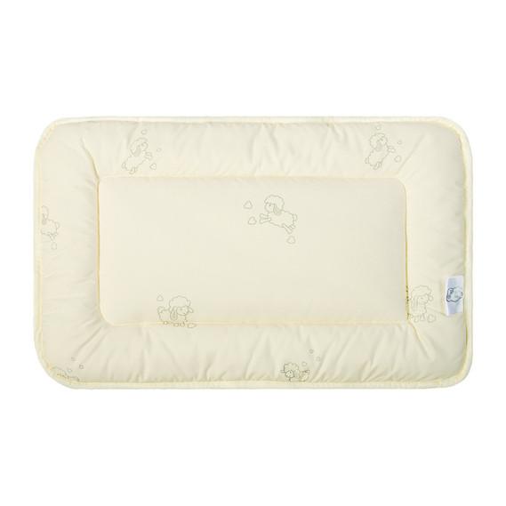 Подушка для новорожденных Ideia Baby Wool 40*60 см микрофибра/шерстепон арт.8000011046
