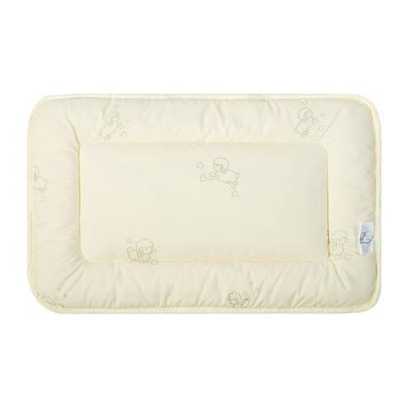 Подушка для новорожденных Ideia Baby Wool 40*60 см микрофибра/шерстепон арт.8000011046, фото 2