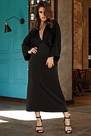 Женское длинное шелковое платье.Размеры:42,44,46.+Цвета, фото 1