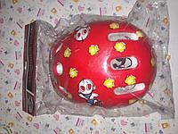 Детский защитный шлем MS0014 красный