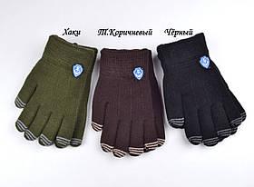Перчатки якорь т.коричневый