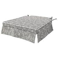 ЕЛЬСЕБЕТ Подушка на стілець - сірий - IKEA