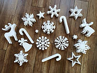 Снежинки, новогодний декор, фото 1