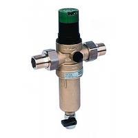 Сетчатый фильтр механической очистки HONEYWELL FK06 1/2AAМ с регулятором давления для горячей воды