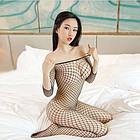 Сексуальная сеточка для тела, комбинезон, фото 3