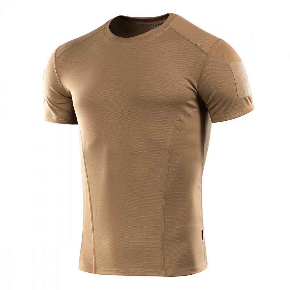 M-Tac футболка потоотводящая Athletic Velcro Coyote Brown