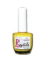 Лак для ногтей Reptile style Грязно-желтый #12 VELENA, 14 мл