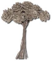 Букет для декорирования Серебристые сосновые шишки