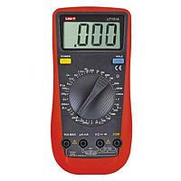 Цифровой мультиметр универсальный UNI-T UT-151A, вольтметр, амперметр, измеритель емкости