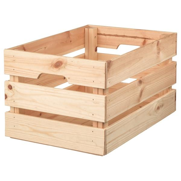 IKEA KNAGGLIG (702.923.59) Коробка, сосна
