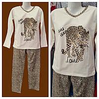 Пижама на байке леопард