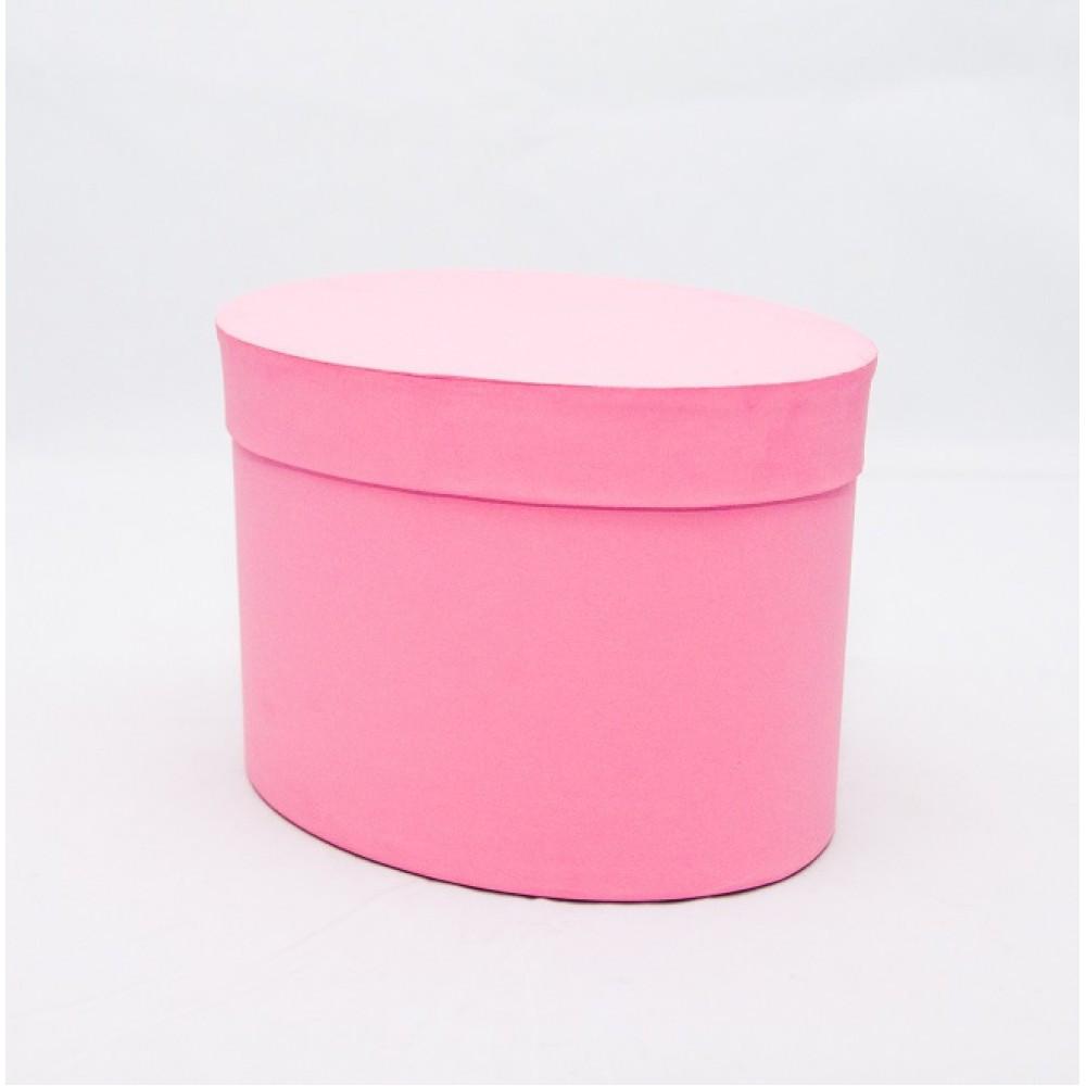 Овальная коробка с крышкой 17*13*13см rosa woodstuk