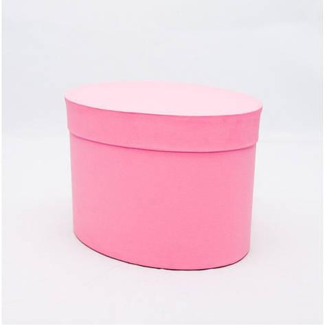 Овальная коробка с крышкой 17*13*13см rosa woodstuk, фото 2