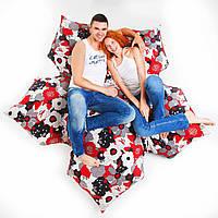 Бескаркасный диван 100 / 170 см., фото 1