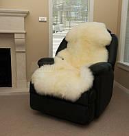 Одинарная накидка на кресло, овечья накидка в кресло