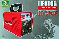 Сварочный инвертор Foton СТ-205D