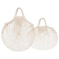 КУНГСФОРС Сітчаста сумка, набір із 2 шт. - натуральний - IKEA