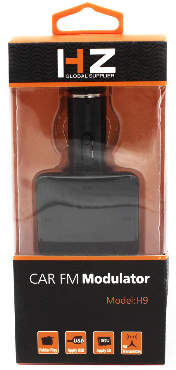 FM Модулятор для Авто HZ H9, MP3, USB, AUX