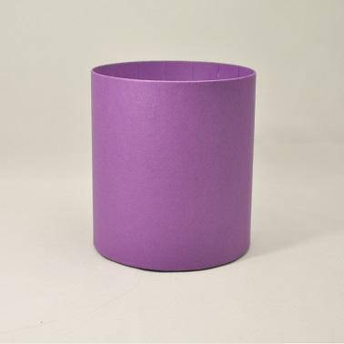 Круглая коробка без крышки h20*d20см васильковая, фото 2