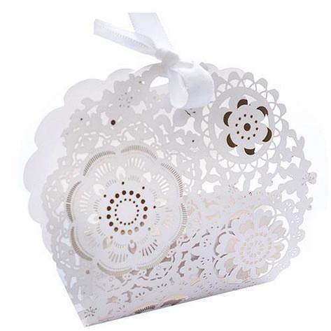 Бонбоньерка (коробочка для конфет) 10.5*3*9см 50шт/уп N00489 (3600шт), фото 2