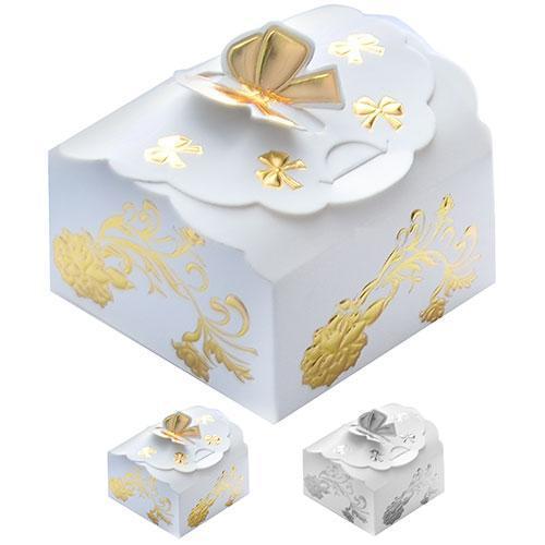 Бонбоньерка (коробочка для конфет) 7*6.5*4,5см 12шт/уп N00514 (3456шт)