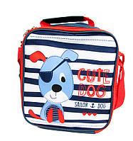 """Термо-рюкзак для еды """"Собака"""" детская термо-сумка для обедов в школу, сумка-холодильник"""